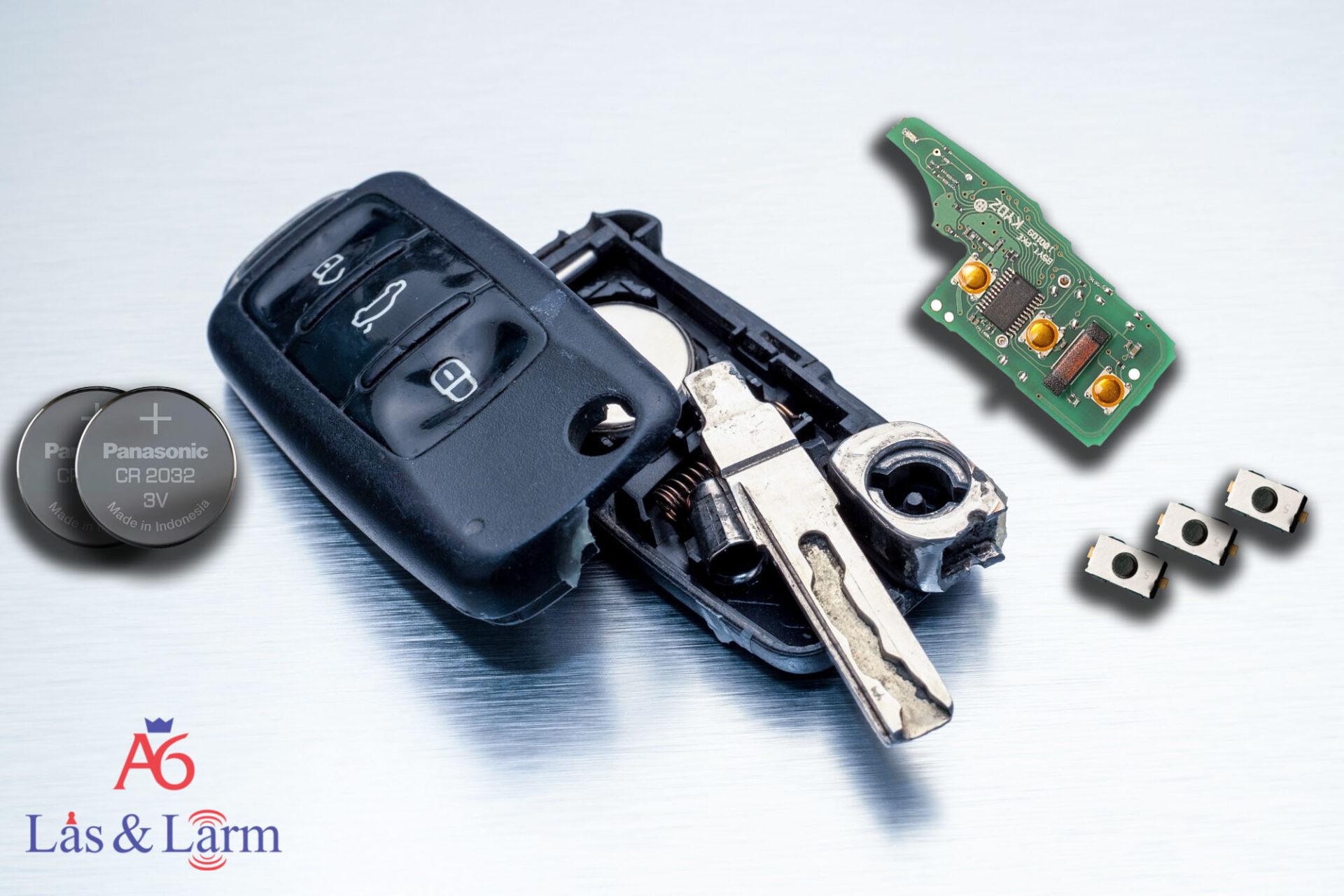 bilnyckel reparera